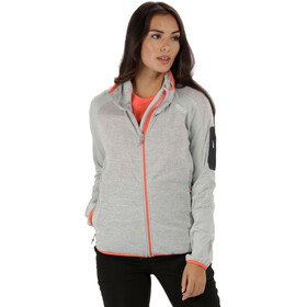 Regatta Laney IV Chaqueta Mujer, light steel marl/light steel